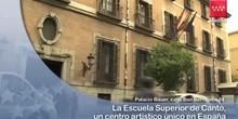 Un total de 120 alumnos estudian en la Escuela Superior de Canto de Madrid