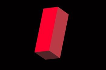 Prisma tetragonal