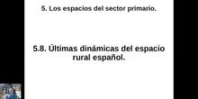 0508 Últimas dinámicas del mundo rural español