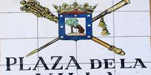 Indicativo de calle, Plaza de la Villa, Madrid