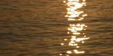 Reflejo solar sobre el mar