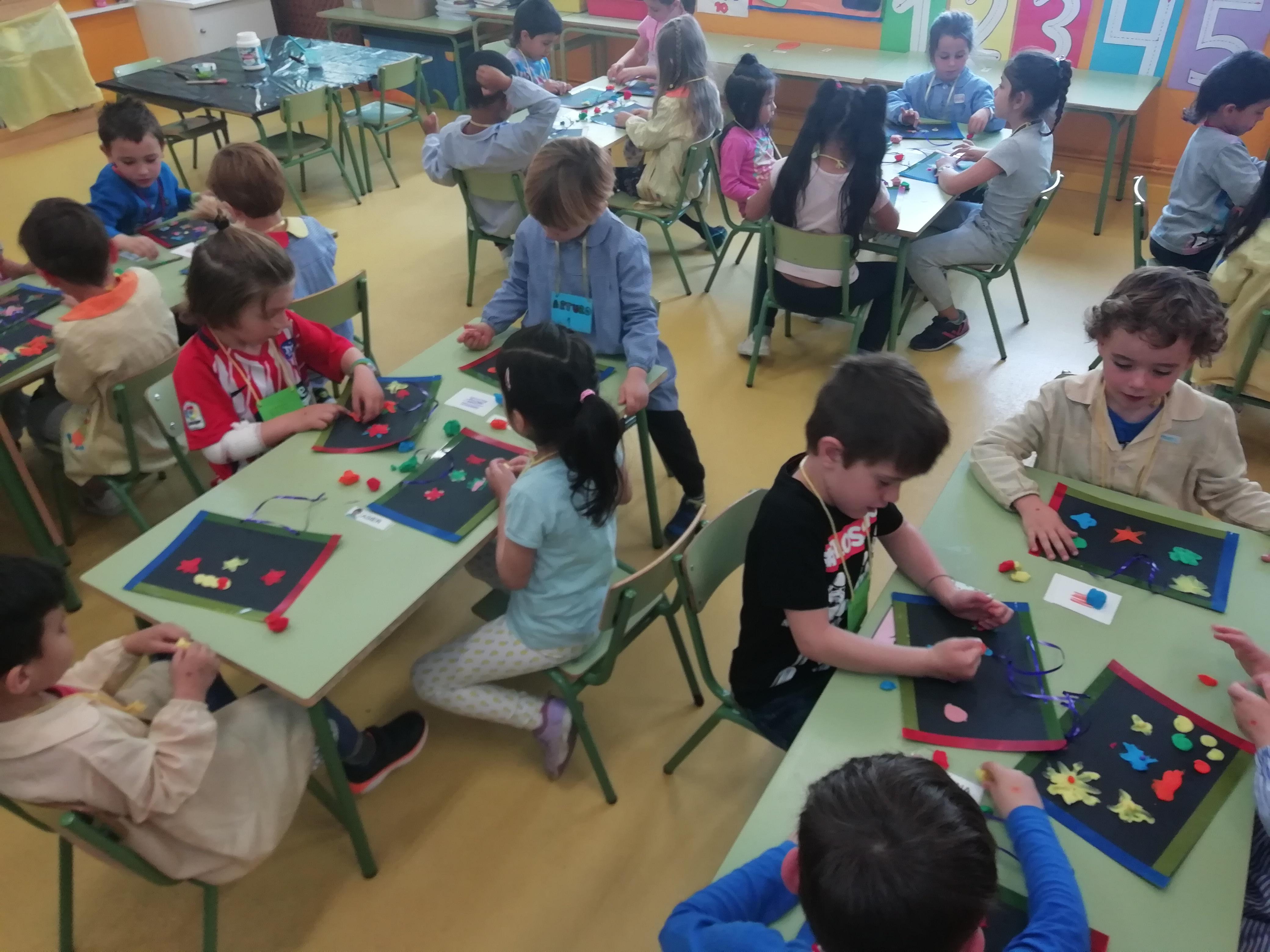 Jornadas Culturales 18-19. Taller de Plástica. Infantil 2