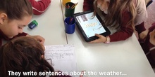 PRIMARIA 2º - PREPARING OUT PROJECT ABOUT WEATHER - INGLÉS