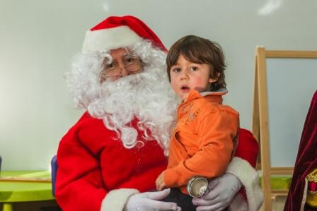Los RRMM y Papá Noel en INF 4C 7