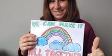 WE CAN MAKE IT ALL TOGETHER! Mari Ángeles, tutora de 4º de primaria y especialista en idioma extranjero (Inglés)