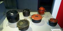Utensilios domésticos: Ollas y cazuelas, Museo del Pueblo de Ast
