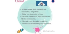Cloud y aula virtual