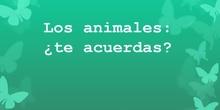 Repaso animales vertebrados