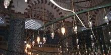 Interior del Rüstem Pasa Camii, Estambul, Turquía