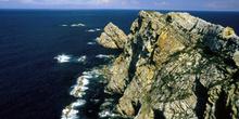 Vista parcial del Cabo de Peñas, Gozón, Principado de Asturias