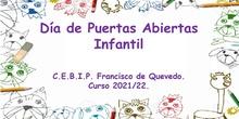 Día de Puertas Abiertas Infantil 2021