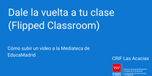 Subir videos a la Mediateca de EducaMadrid