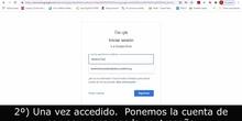 Cuestionario google docs