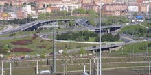 Nudo de carreteras, Madrid