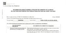 INFORMACIÓN BÁSICA SOBRE EL PROCESO DE ADMISIÓN DE ALUMNOS