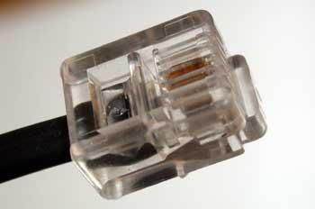 Conector RJ-45 para redes informáticas
