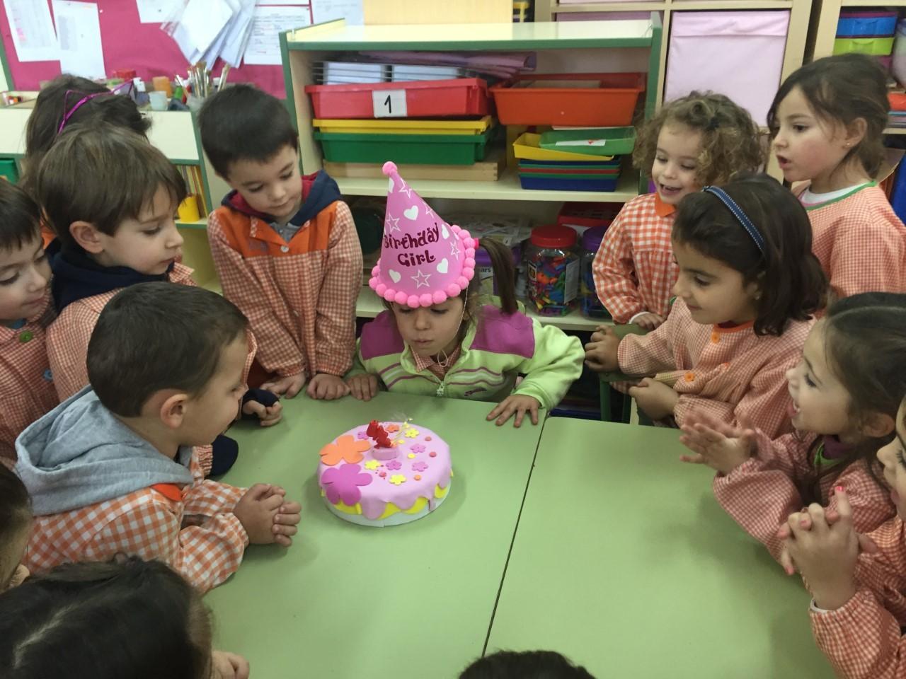 Cumpleaños Isabel 8