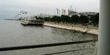Vista del recinto de Expo 98 desde la Torre da Gama, Lisboa, Por