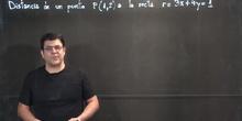 Bach1 - Distancia de un punto a una recta (ejemplo)