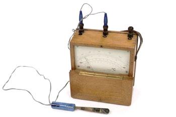 Termómetro analógico para termopares