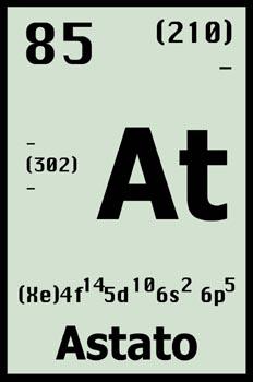 Tabla periódica, astato