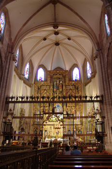 Altar Mayor, Catedral de Murcia