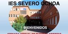 Puertas Abiertas IES Severo Ochoa 2020
