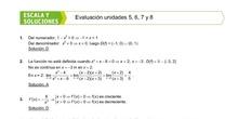Soluciones Evaluación Tercer Trimestre