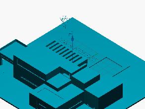 Diseño 3D casa moderna MS