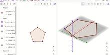 Cómo ver un polígono en la vista gráfica 2D y 3D