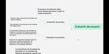 Elaboración del proyecto de dirección. Parte 2