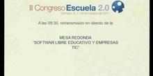 Software libre educativo y empresas TIC.