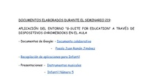 Documentos Seminario Chromebooks