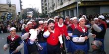 Murga amenizando el desfile - Badajoz