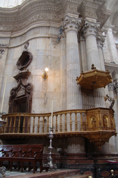 Púlpito de la Catedral de Cádiz, Andalucía