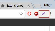 Lightshot extensión Chrome Captura