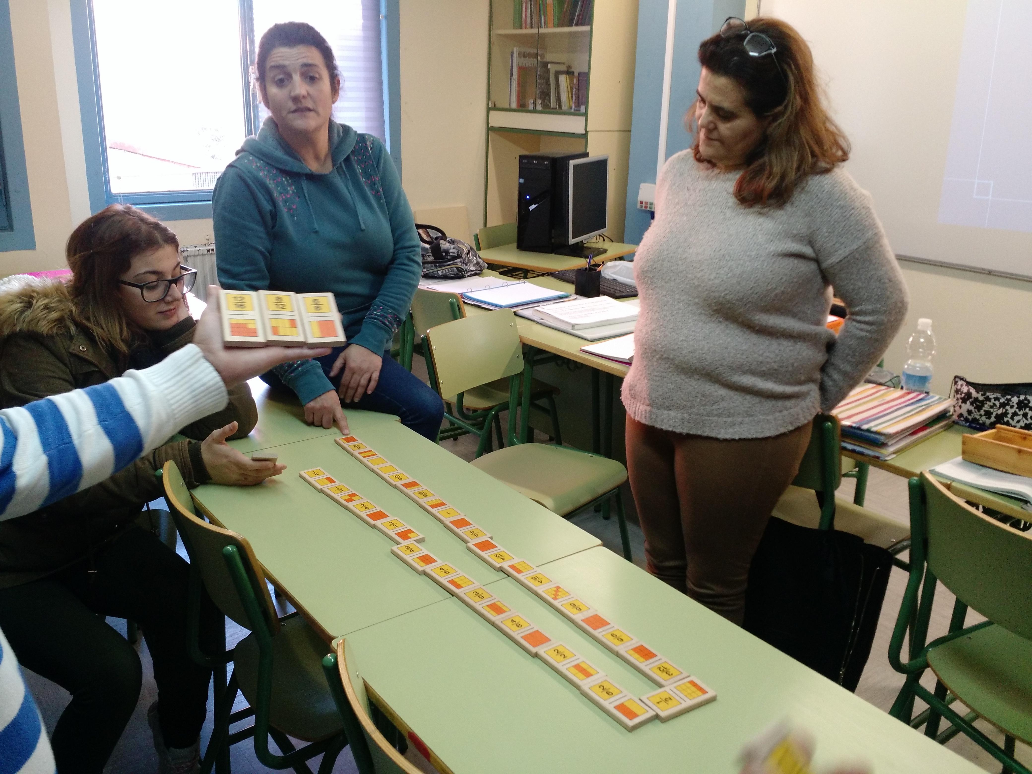 Jugando al dominó (fracciones) 10