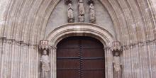 Fachada gótica, San Pedro de los Francos