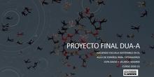 Proyecto final DUA-A Escuela sostenible grupo de ELE en CEPA Daoiz y Velarde