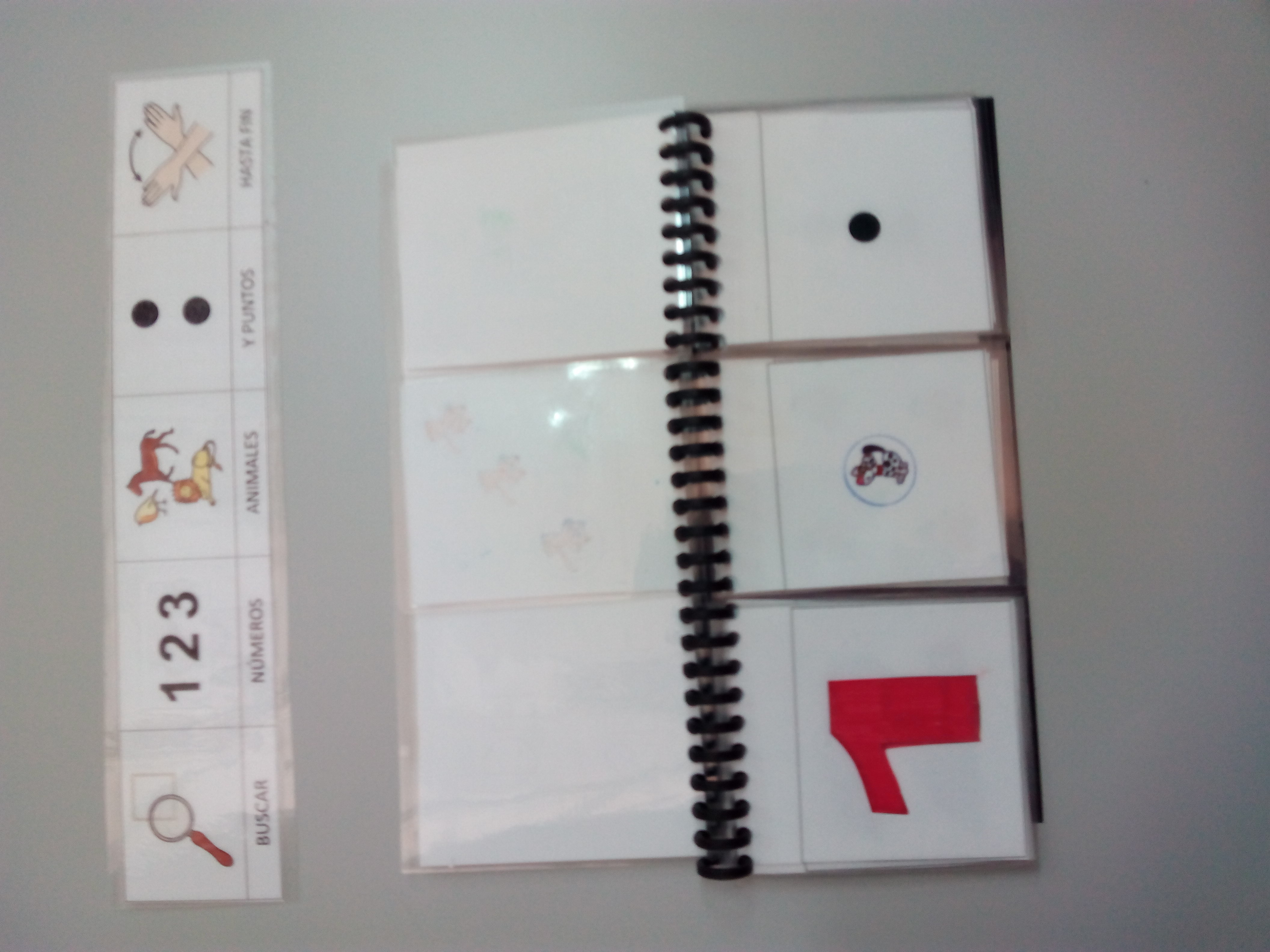 Seminario:material manipulativo para infantil y primaria adaptado a alumnos con T.E.A. 40