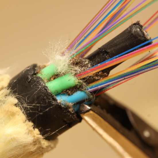 Cable de Fibra Óptica de 64 fibras para FTTH