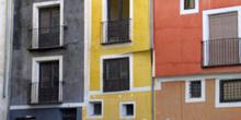 Detalle de edificio, Cuenca