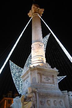Columna, Plaza de Rossio, Lisboa, Portugal