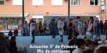 Navidad-Actuación 5º de Primaria