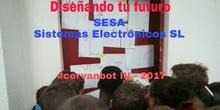 """#cervanbot IV: """"Diseñando tu futuro"""" con SESA Sistemas Electróncos SL (grabaciones realizadas por alumn@s)"""