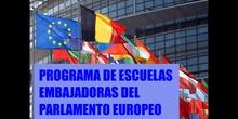PROGRAMA DE ESCUELAS EMBAJADORAS DEL PARLAMENTO EUROPEO. ARCI