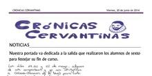 Crónicas Cervantinas - 20 de junio de 2014
