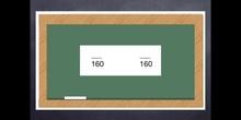 6º matemáticas reducción a común denominador