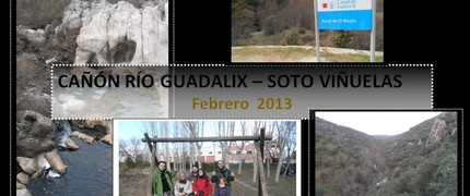 cañón río guadalix febrero 2013