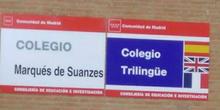 Cartel CEIP Marqués de Suanzes